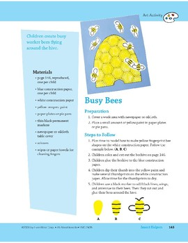 Insect Helpers: Art and Cooking Activities
