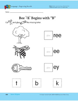 Insect Helpers: Language and Math Activities