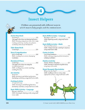 Insect Helpers: Outdoor Activity and Finger Play