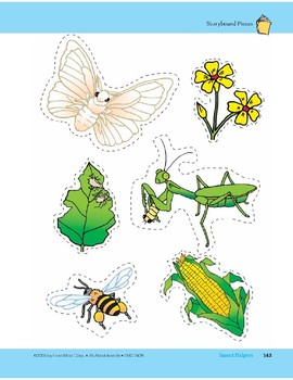 Insect Helpers: Storyboard Pieces