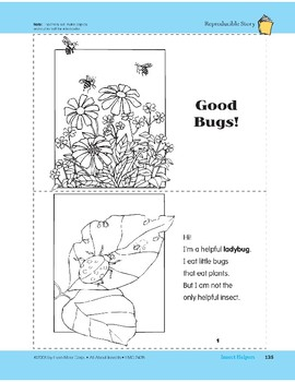 Insect Helpers: Take-Home Book