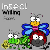 Insect Informational Writing Templates and Craft