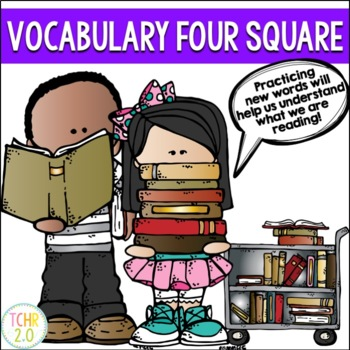 Vocabulary Four Square Editable Template Free