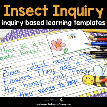 Inquiry Based Learning Projects - Insects (Digital and PDF) Distance Learning