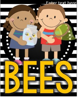 Insect Inspectors Bees Class Book