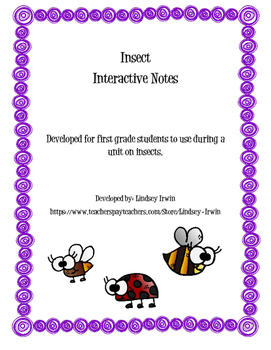 Insect Interactive Notes