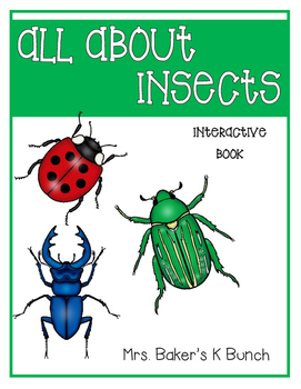 Insect Interactive Reader Book