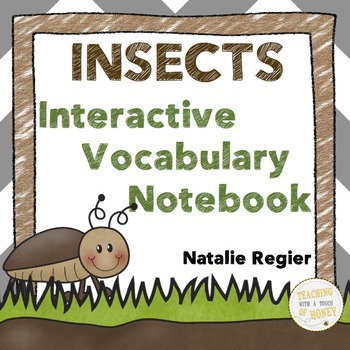 Insects Activity with Interactive Notebook | FUN Bugs and Insects Activities