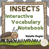 Bugs and Insects Activity - Fun Interactive Notebook Vocabulary Activity