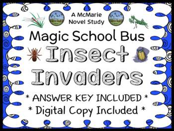 Insect Invaders (Magic School Bus #11) Novel Study / Comprehension (25 pages)