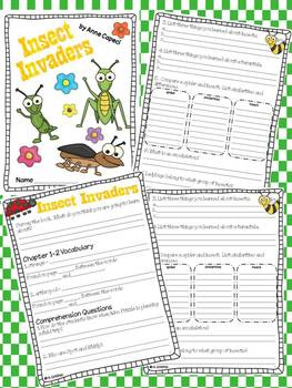 Insect Invaders (Magic School Bus Chapter Book #11) Comprehension Guide