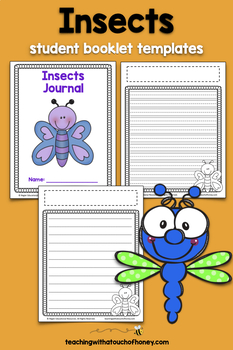 Writing Prompts About Insects: 25 Cut-And-Paste Writing Prompts