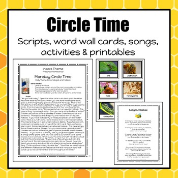 Insect Lesson Plan - Preschool Homeschool