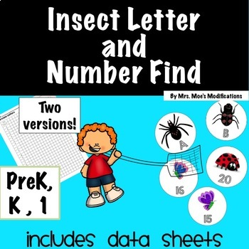 Insect Letter and Number Game