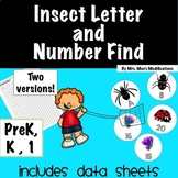 Insect Letter and Number Game #easterdollardeals
