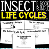 Insect Life Cycle Emergent Reader Book Bundle