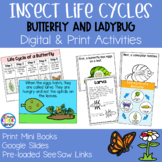 Insect Life Cycles Mini Books