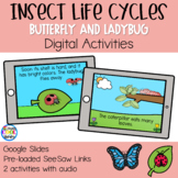 Insect Life Cycles - Butterfly & Ladybug - | Digital for G