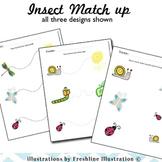 Insect Matchup - Math, Writing, Motor Skills, Pre-K, K