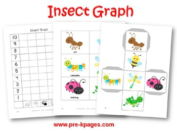 Insect Math Activities for Pre-K and Kindergarten
