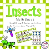 Insect Math Pack - Counting, Patterns, Measuring, Number Recognition
