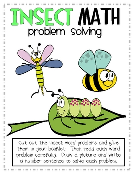 Insect Math Problem Solving
