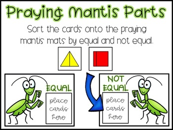 Insect Math Stations