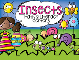 Insects Math and Literacy Centers {CCSS}