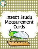 Insect Measurement Cards