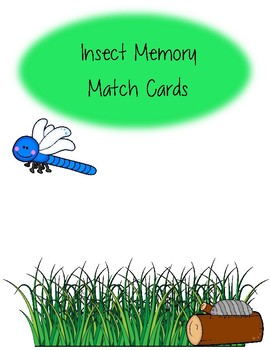 Insect Memory Card Game