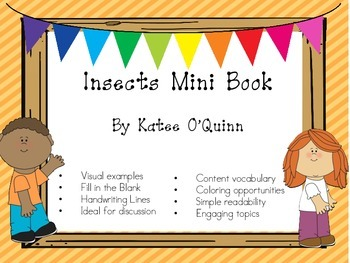 Insect Mini Book