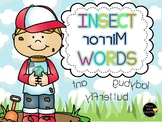 Insect Mirror Words FUN!
