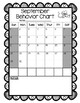Insect Monthly Behavior Calendars (editable)