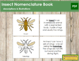 Insect Nomenclature Book