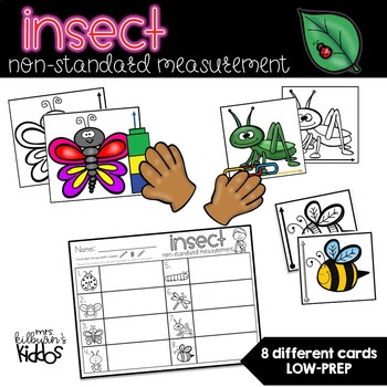 Insect Non-Standard Measurement