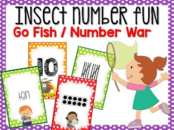 Insect Number Card Game #0-20