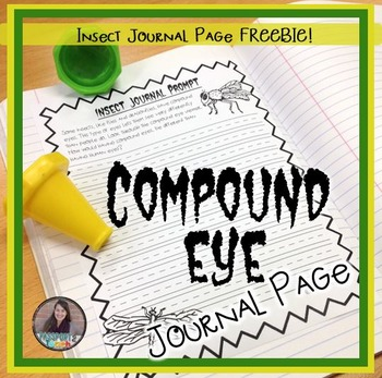Compound Eye Journal Page FREEBIE