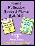 Insects/Pollination/Seeds & Plants BUNDLE- Kindergarten, First & Second Grades