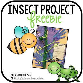 Insect Project Freebie