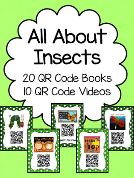 Insect QR Code Books