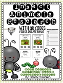 Insect QR Code Research with Nonfiction Recording Sheets
