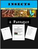 Insects Reading Comprehension Unit Text Features