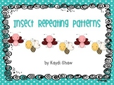 Insect Repeating Patterns Math Station
