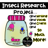 Insect Report Booklet, Writing & Crafts