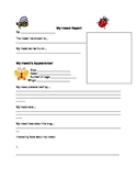 Insect Report Template