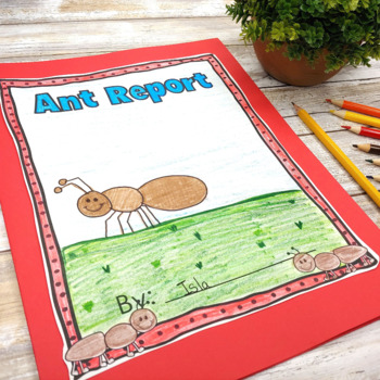 Insect Report on Ants: No Prep FREEBIE!