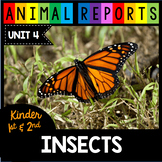 Insect Reports - Monarch Butterflies - Caterpillars - Bees - Nonfiction Insects
