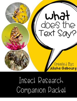 Insect Research Companion