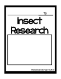 Insect Research Packet