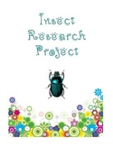 Insect Research Project